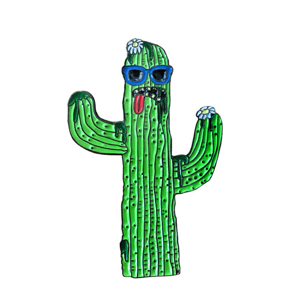 cacti guy pin