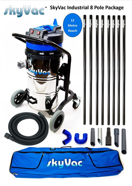 Skyvac gutter cleaning system scott shop towels box