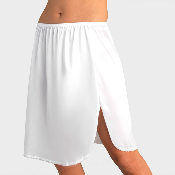 Static Free Half Slip - White Ice