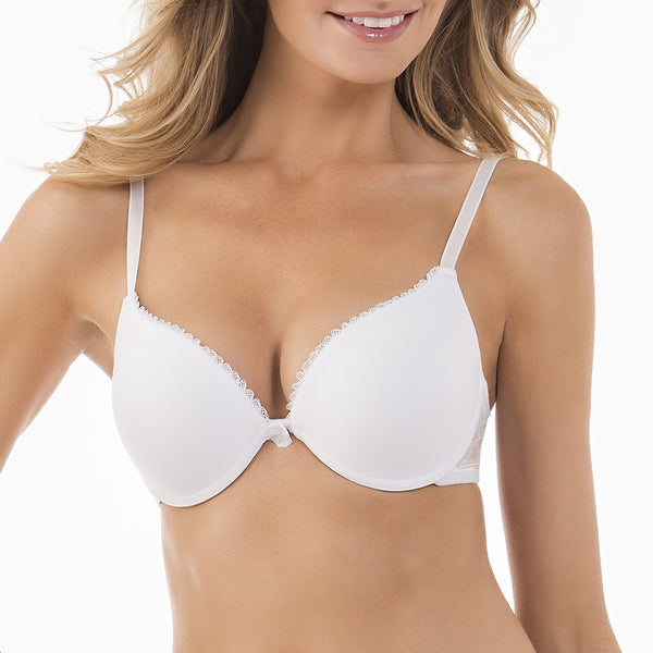 Beautiful Indulgence Push-Up Bra - White Ice