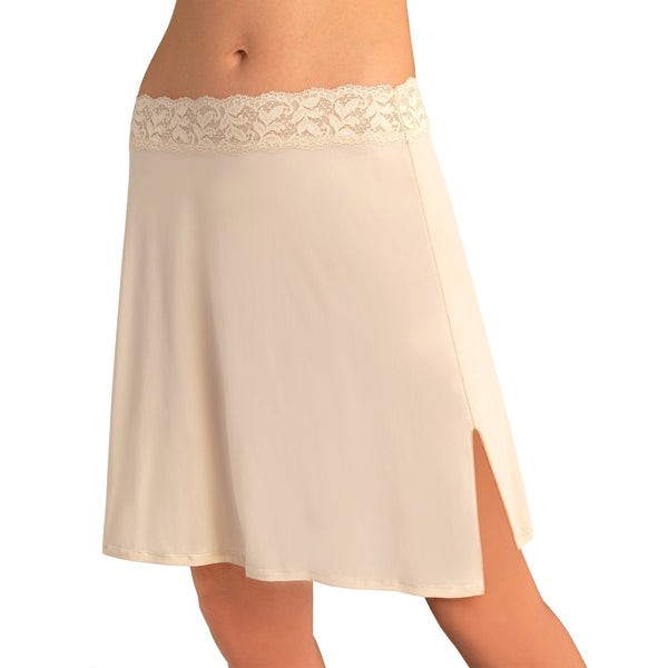 Adjustable Waist Half Slip - Vass Latte