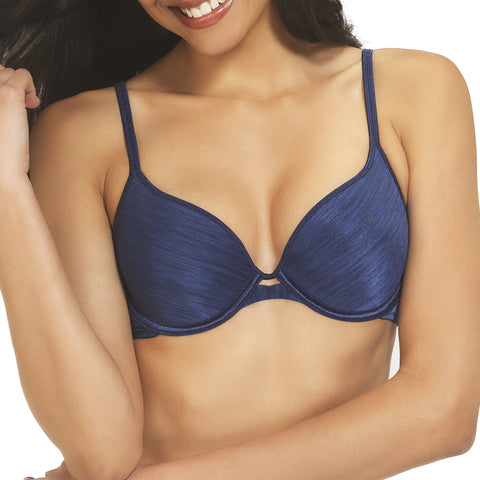 Silken Heather Demi Underwire Bra - Admiral Navy quickview