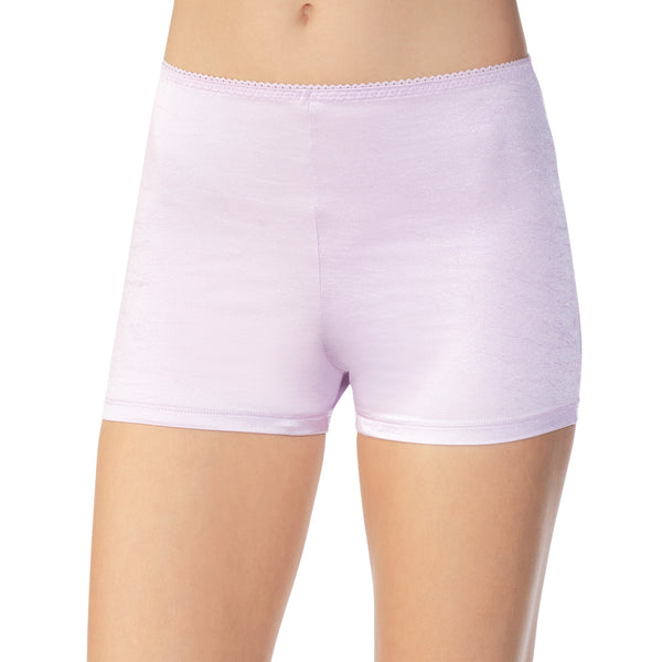 Undershapers Light Control Boyshort - Wisteria Bud