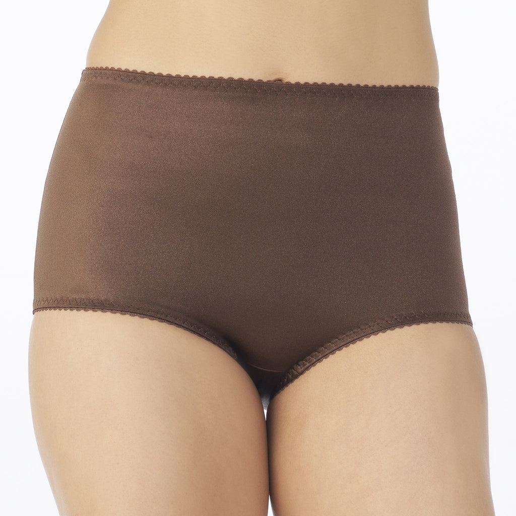 Undershapers Light Control Brief - Chocolate