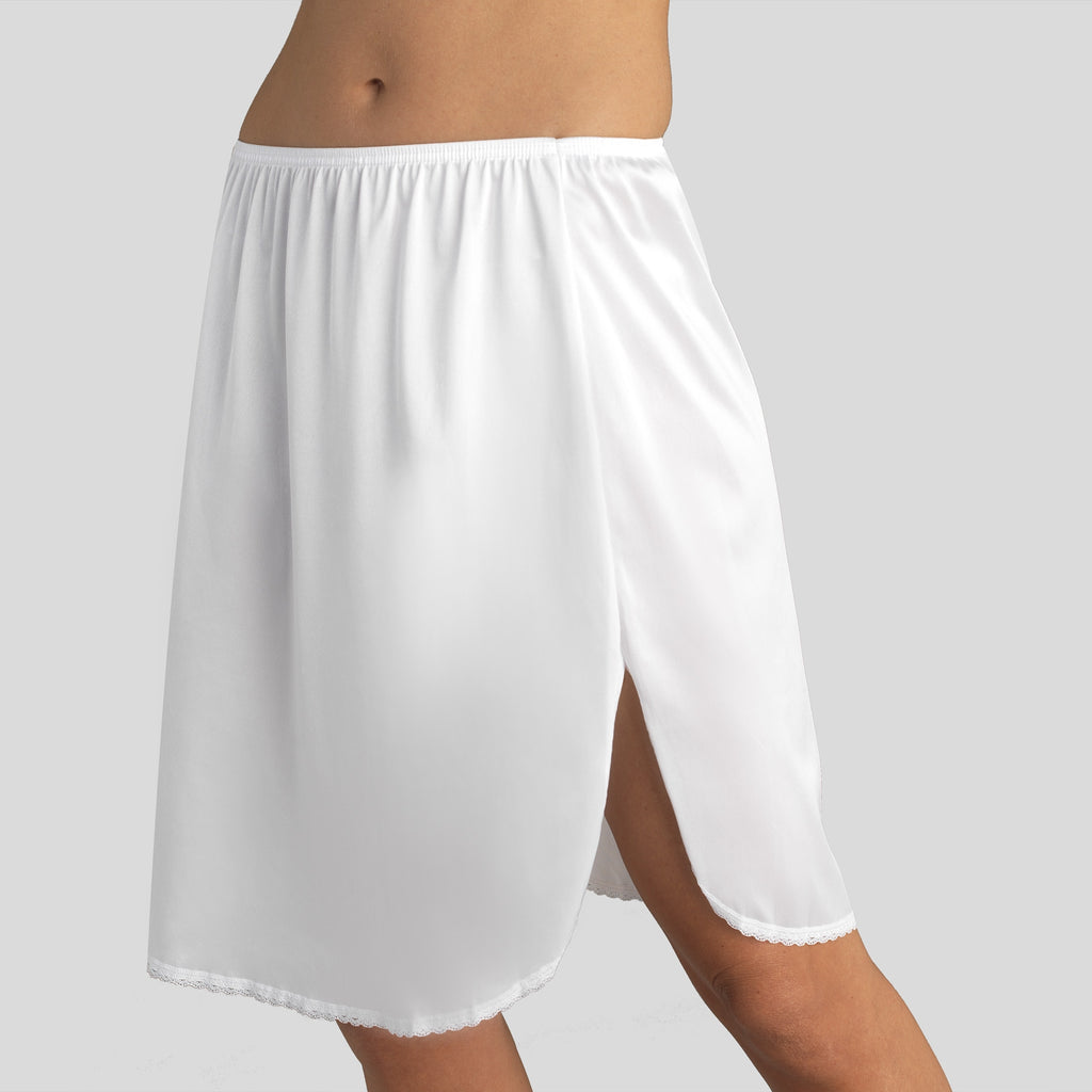 Static Free Half Slip Extended Sizes - White Ice