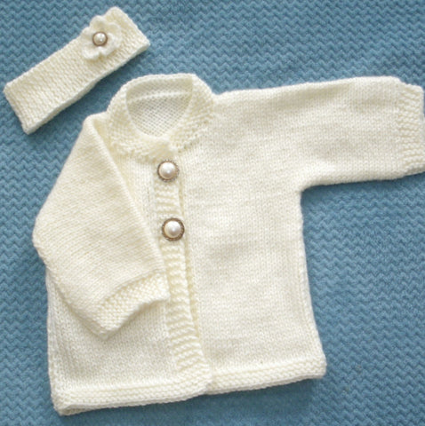 "Baby Sweater Set - ""Mystic""   ---  FAST and FREE Shipping"