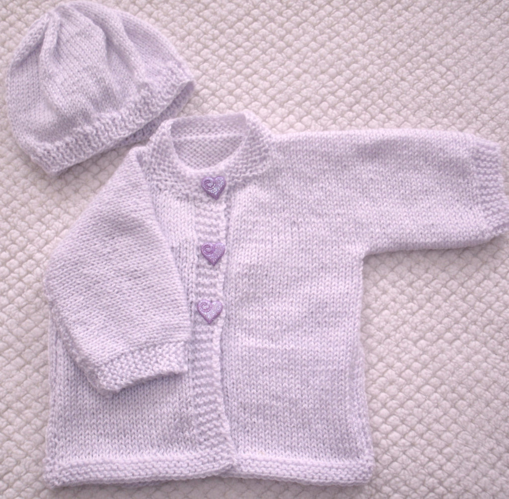 "Baby Sweater Set - ""Mystic"""