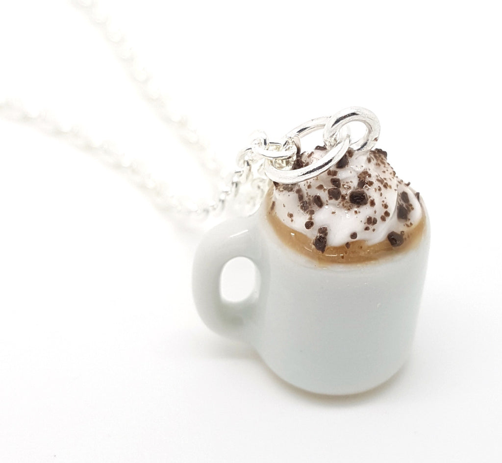 Mug of Hot Chocolate Necklace