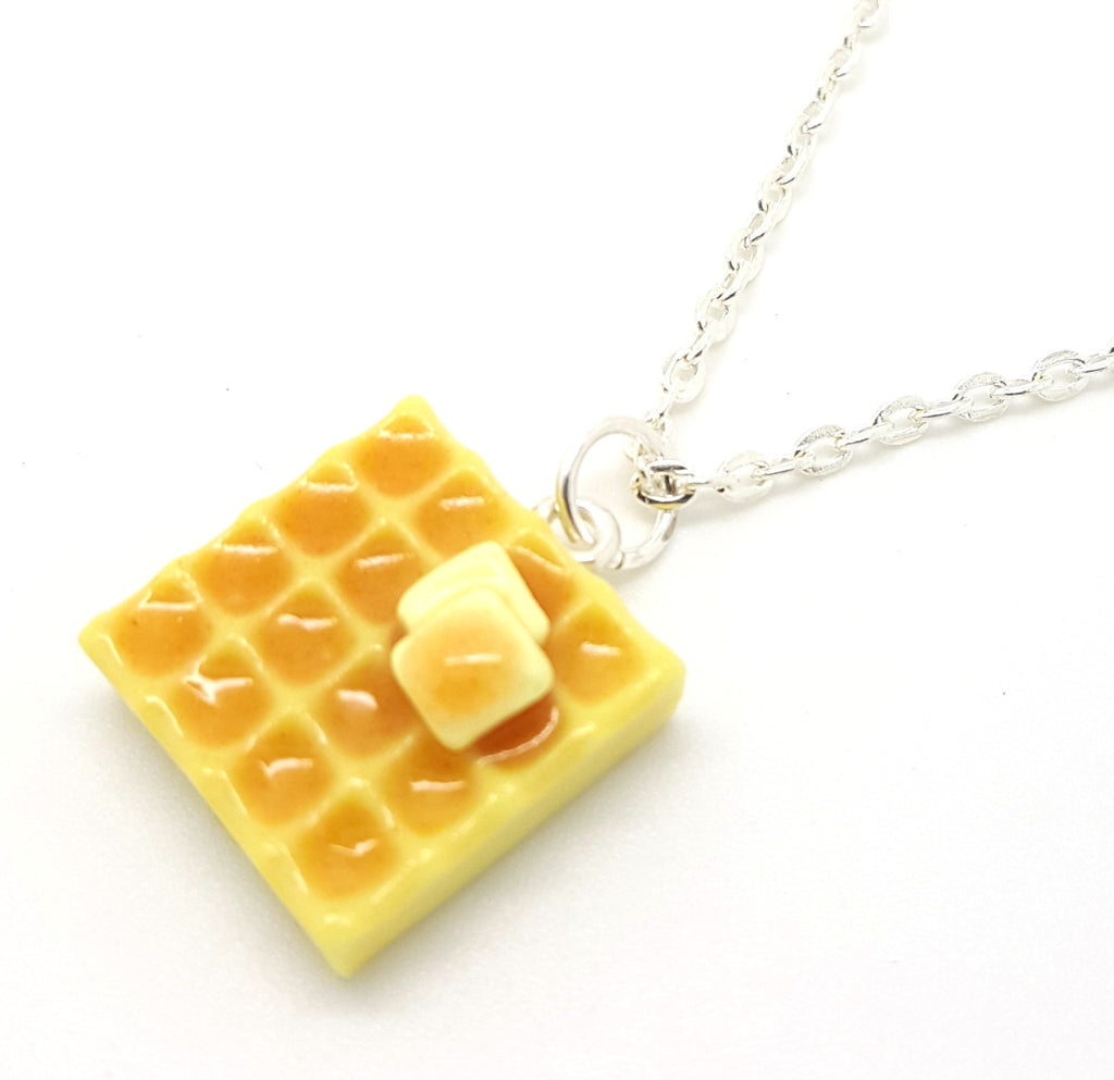 Square Waffle Necklace