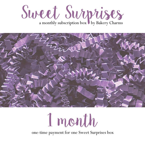 Sweet Surprises Box: 1 Month - Bakery Charms