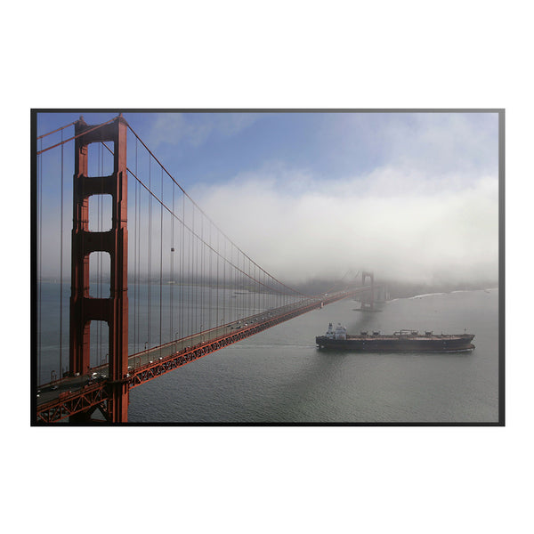 Fog Over the Golden Gate Bridge