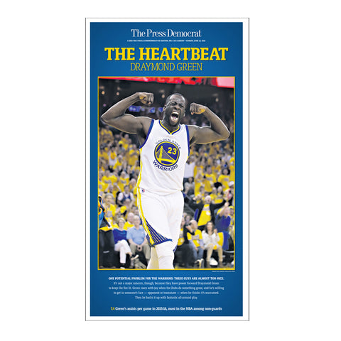 Warriors Commemorative Sports Page Replica - Draymond Green