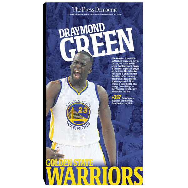 Warriors 2017 Commemorative Sports Page - Draymond Green