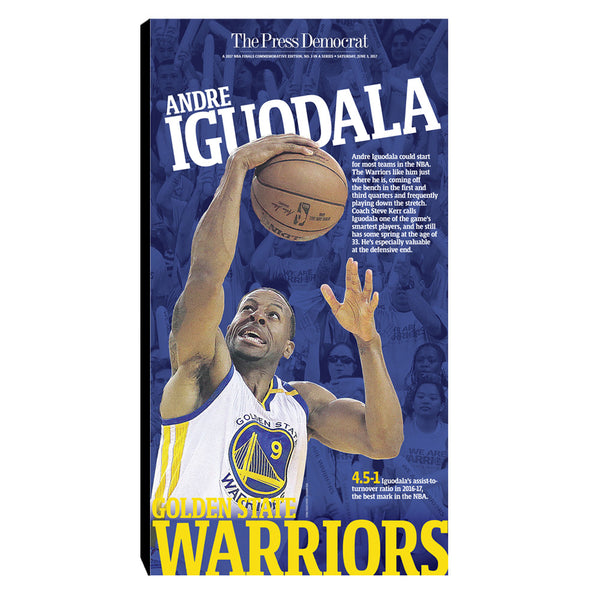 Warriors 2017 Commemorative Sports Page - Andre Iguodala