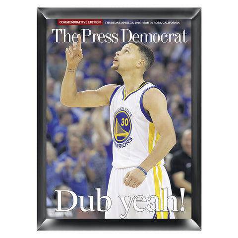 Warriors Record Season Commemorative Wood Plaque