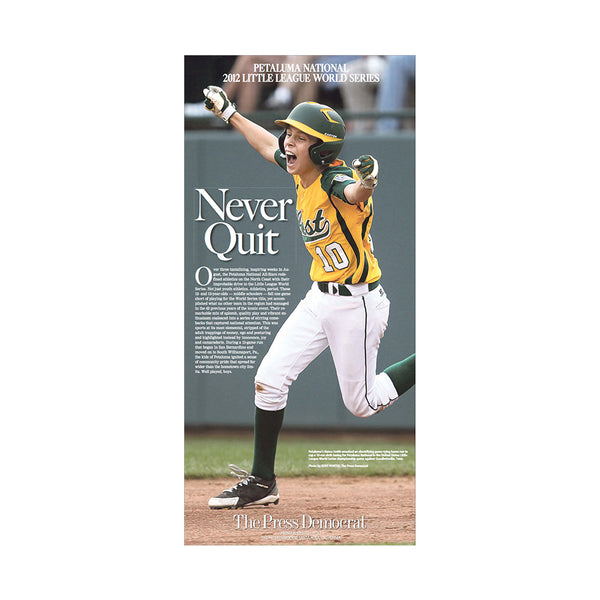 The Press Democrat Classics: Petaluma Wins 2012 National Little League World Series Cover
