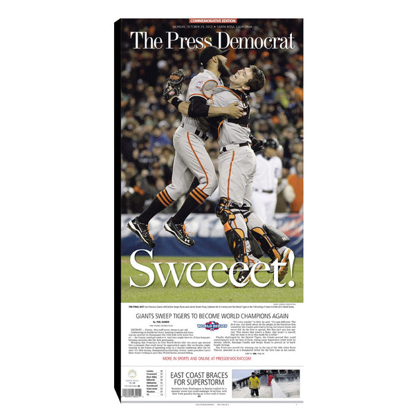 PD Classic - Commemorative SF Giants 2012 World Series Win