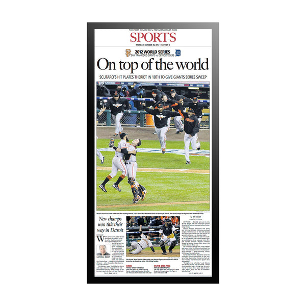 The Press Democrat Classics: San Francisco Giants 2012 World Series - On Top of the World
