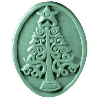 Christmas Tree Oval Soap Mold | Woodland Apothecary®