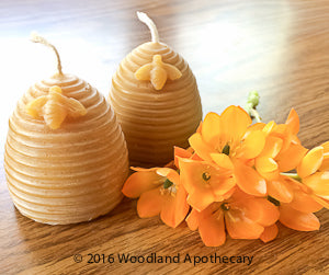 Beeswax Candles | Woodland Apothecary®
