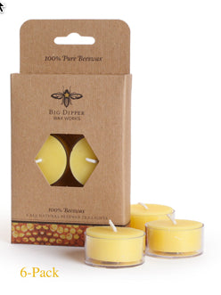Beeswax Tea Lights | Woodland Apothecary®