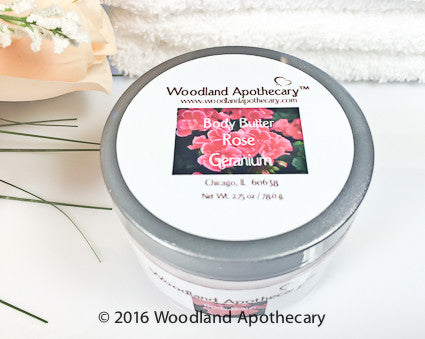 Whipped Body Butter - Rose Geranium