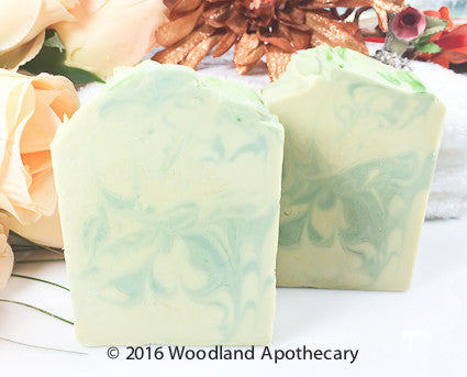 Vegan Luxury Soap - Cucumber Rosemary Mint