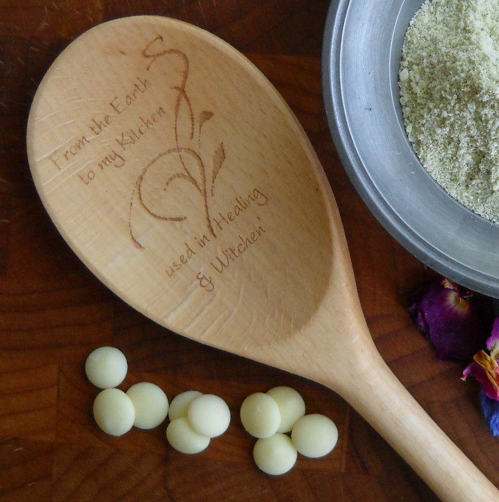 Enchanted Wooden Spoons - From the Earth to my Kitchen,... | Woodland Apothecary®