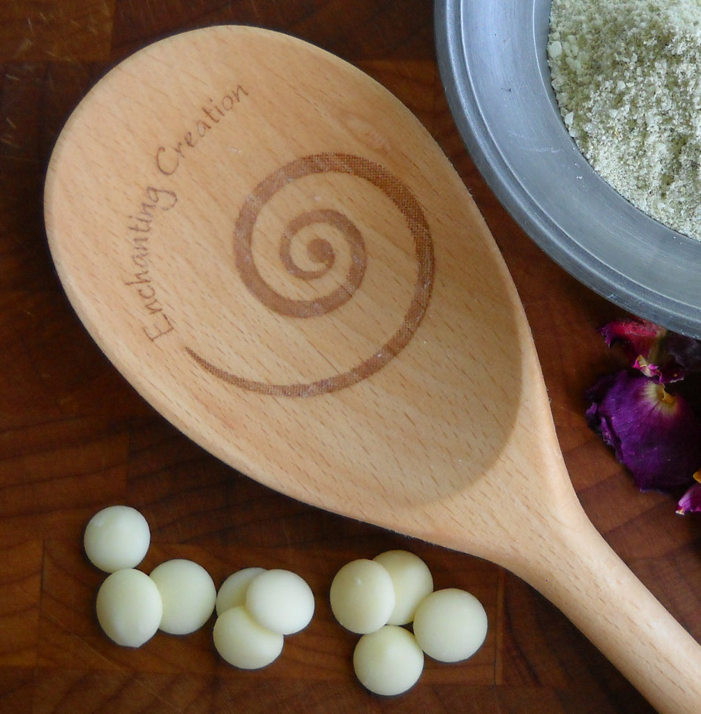Enchanted Wooden Spoons (My Kitchen Wand) - Enchanting Creation | Woodland Apothecary®