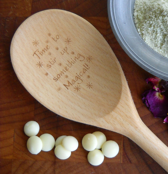 Enchanted Wooden Spoons - Time to stir up something Magical | Woodland Apothecary®