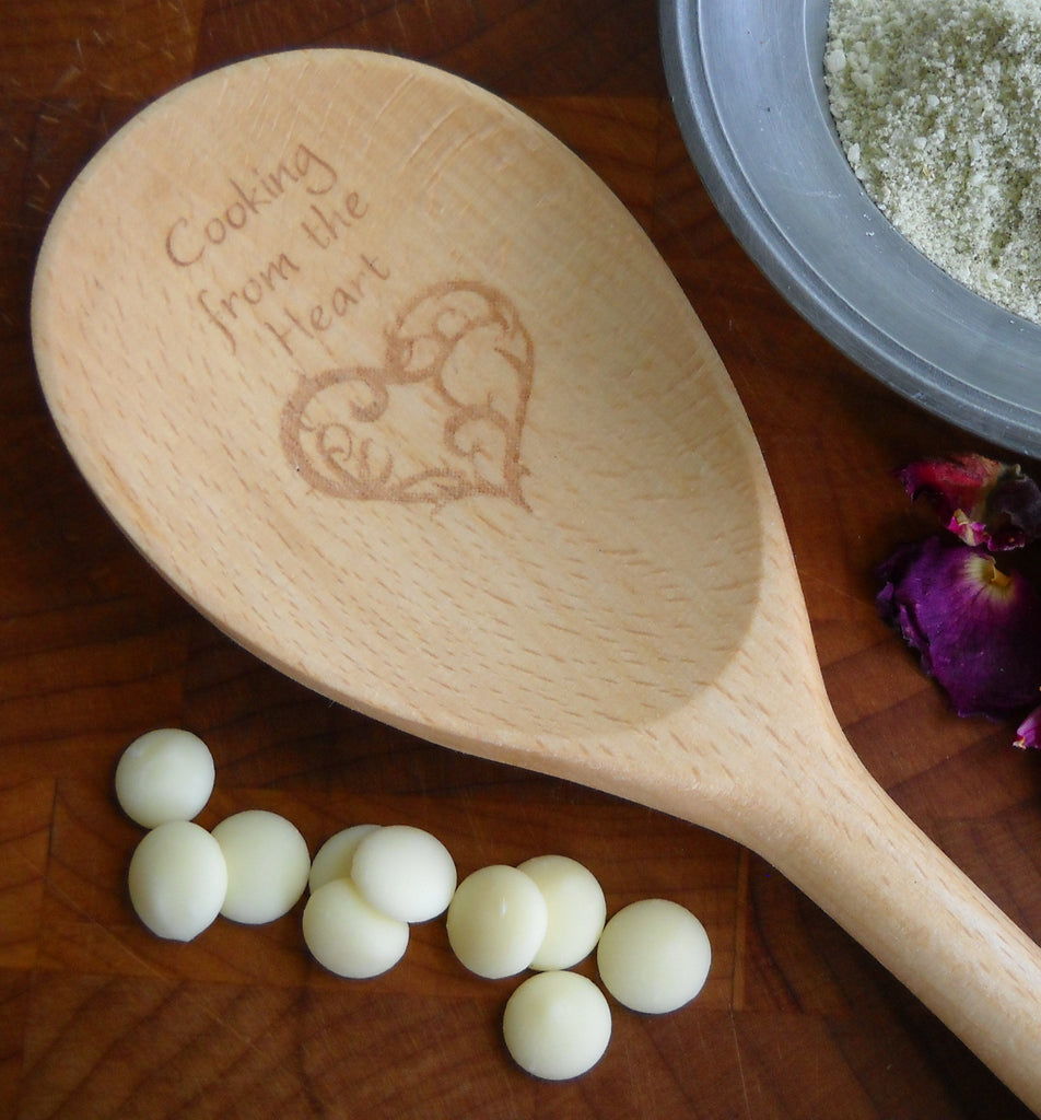 Enchanted Wooden Spoons - Cooking from the Heart | Woodland Apothecary®