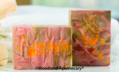 Luxury Artisan Soap - Egyptian Dragon
