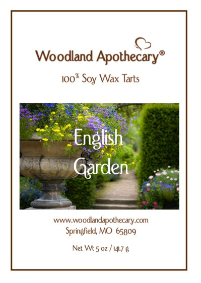 English Garden Soy Wax Melts | Woodland Apothecary®