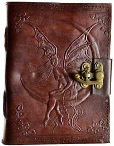 Fairy Moon Leather Blank Journal | Woodland Apothecary™