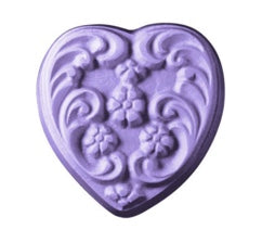 Floral Heart Soap Mold | Woodland Apothecary®