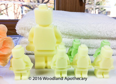Glycerin Soap Kids - Lego Figure