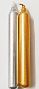 Chime Candles - Silver or Gold | Woodland Apothecary®