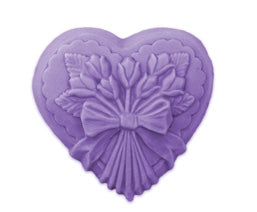 Heart with Tulips Soap Mold | Woodland Apothecary®
