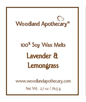Lavender & Lemongrass Wax Melts | Woodland Apothecary®