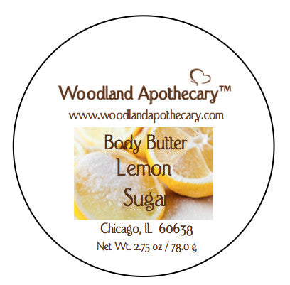 Whipped Body Butter - Lemon Sugar