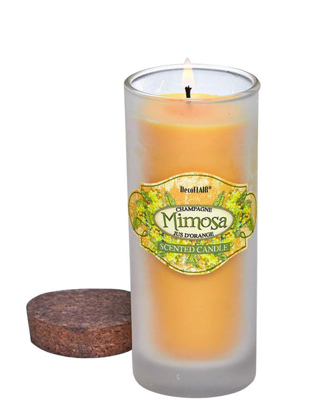 Mimosa Scented Highball Candle | Woodland Apothecary®