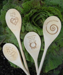 Enchanted Wooden Spoons - A pinch of Kindness | Woodland Apothecary®
