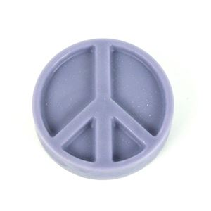 Peace Sign Soap Mold | Woodland Apothecary®