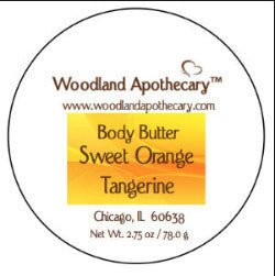 Whipped Body Butter - Sweet Orange Tangerine