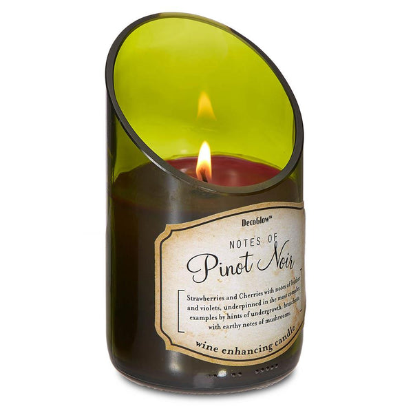 Wine Bottle - Pinot Noir Scented Soy Candle | Woodland Apothecary®