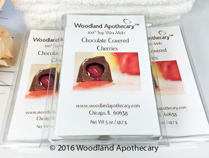 Chocolate Covered Cherries Soy Wax Melts | Woodland Apothecary®