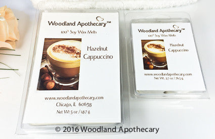 Soy Wax Melts - Hazelnut Cappuccino