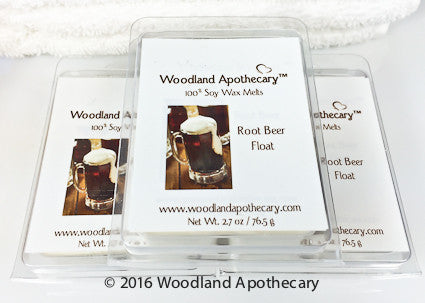 Root Beer Float Soy Wax Melts | Woodland Apothecary®