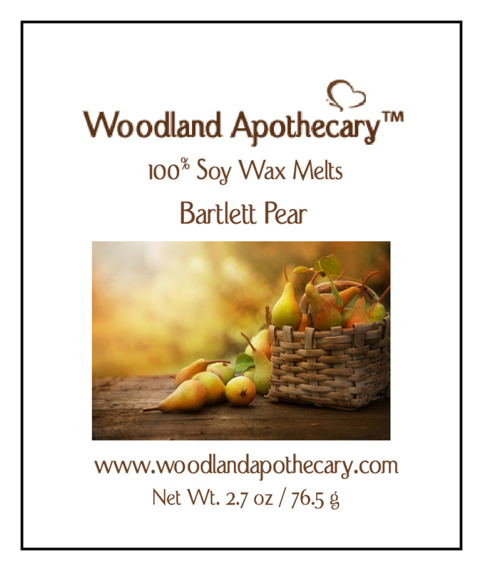Soy Wax Melts - Bartlett Pear