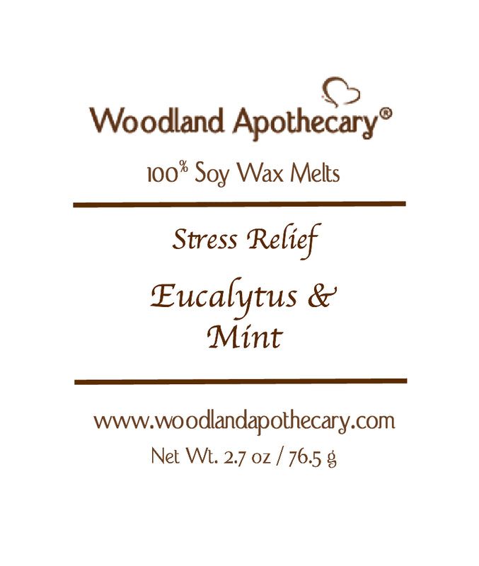 Eucalyptus & Mint Soy Wax Melts | Woodland Apothecary®